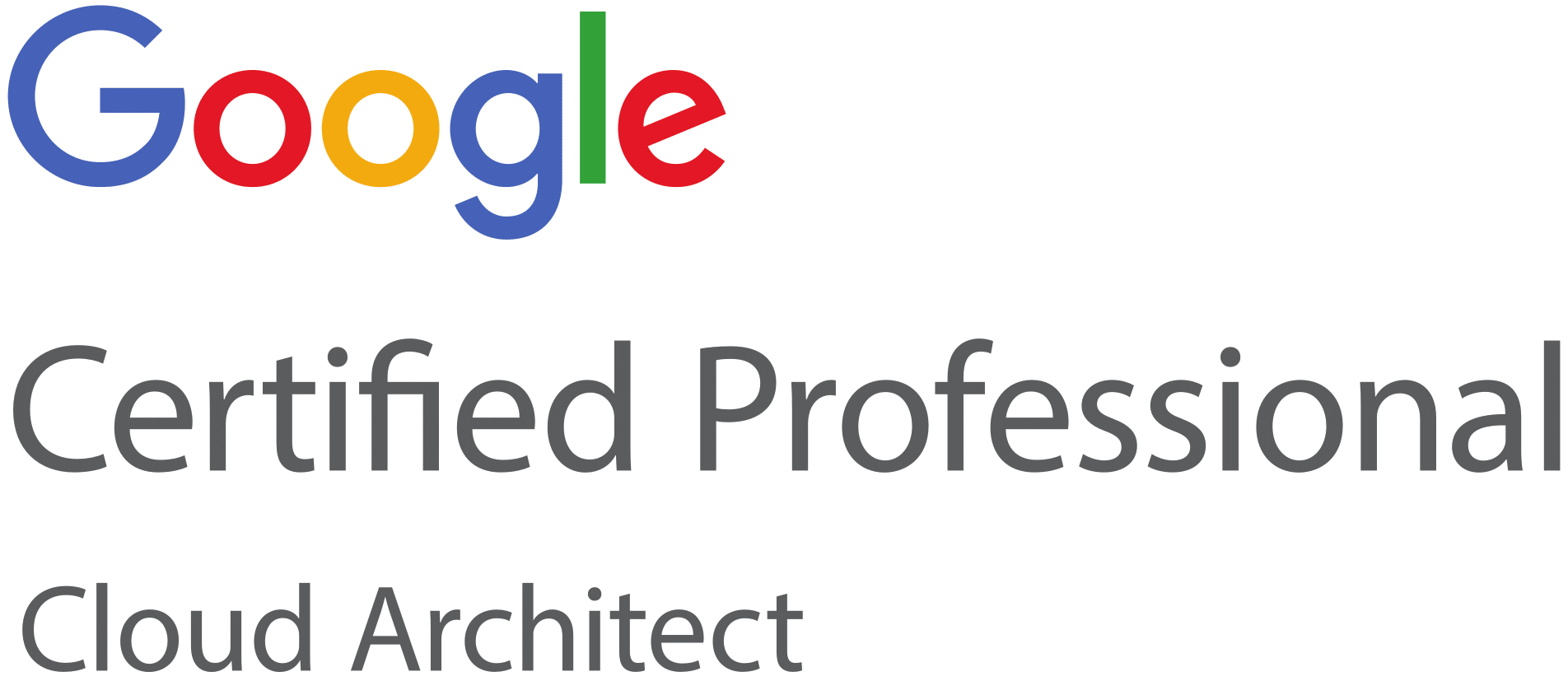 Google Certified Professional