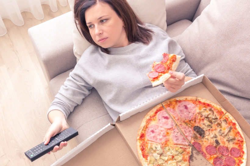 overeating or comfort eating in general